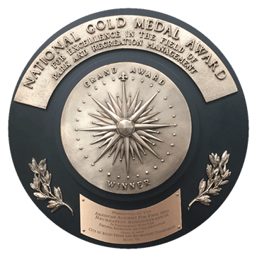 Gold Medal Plaque
